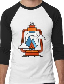 Camping Men's Baseball ¾ T-Shirt