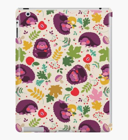 Hedgehog Print iPad Case/Skin