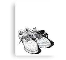 My Sneakers Canvas Print