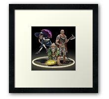 The Adventure Zone Trio! Framed Print