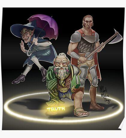 The Adventure Zone Trio! Poster