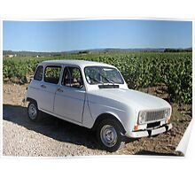 Vintage French car by ProvenceProvence Poster