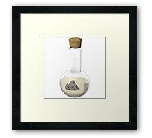 Glitch Alchemy rare potion rocky regeneration solution Framed Print