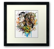Ephemera III: The Detective and the Blogger Framed Print
