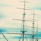 Tall Ship Masts by Caroline Mint