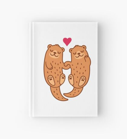 Otterly adorable Hardcover Journal