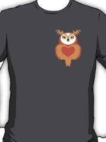 OWL Cute Heart keeper  T-Shirt
