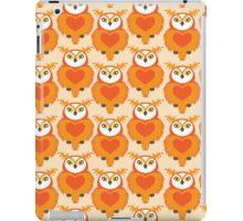 OWL Cute Heart keeper  iPad Case/Skin