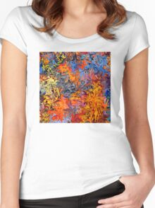Graffiti  Women's Fitted Scoop T-Shirt