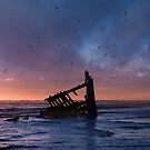 Peter Iredale Shipwreck at Fort Stevens State Park, Oregon. 3 by Alex Preiss