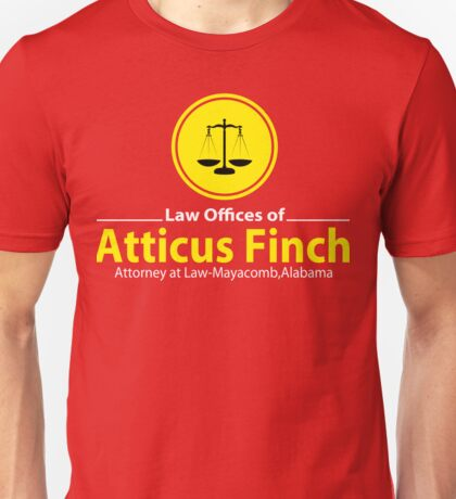 ATTICUS FINCH LAW Unisex T-Shirt