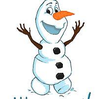 Hi Im Olaf by HollieBallard