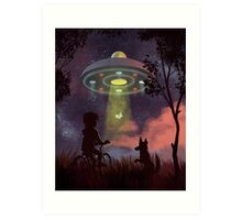 UFO Sighting Art Print