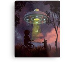 UFO Sighting Impression métallique