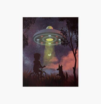 UFO Sighting Art Board