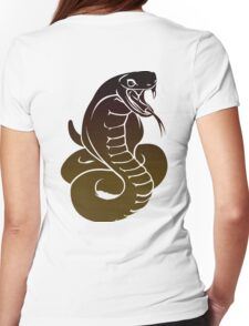 king cobra Womens Fitted T-Shirt