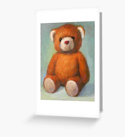 Brown Teddy Greeting Card