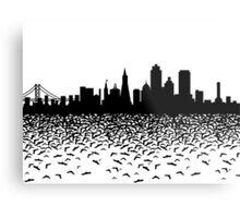 Hidden Gotham Metal Print