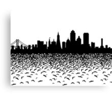 Hidden Gotham Canvas Print