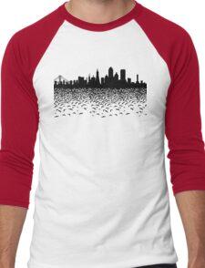 Hidden Gotham Men's Baseball ¾ T-Shirt