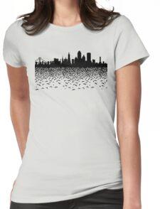 Hidden Gotham Womens Fitted T-Shirt