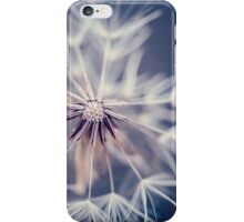Dandelion Blue iPhone Case/Skin