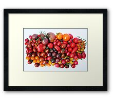 Tomatoes Are Red Framed Print