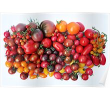 Tomatoes Are Red Poster