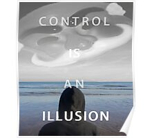 Mr. Robot - Control Is An Illusion Poster