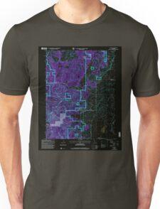 USGS TOPO Map California CA Calpine 100607 2000 24000 geo Inverted Unisex T-Shirt