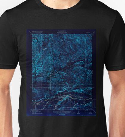 USGS TOPO Map California CA Snelling 296515 1918 31680 geo Inverted Unisex T-Shirt
