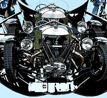 V Twin trike by scat53