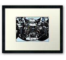 V Twin trike Framed Print