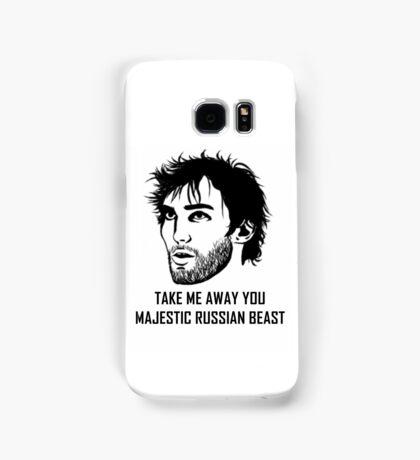 Take Me Away You Majestic Russian Beast Samsung Galaxy Case/Skin