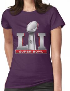 Super Bowl 51 Womens Fitted T-Shirt