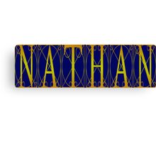 nathan Canvas Print
