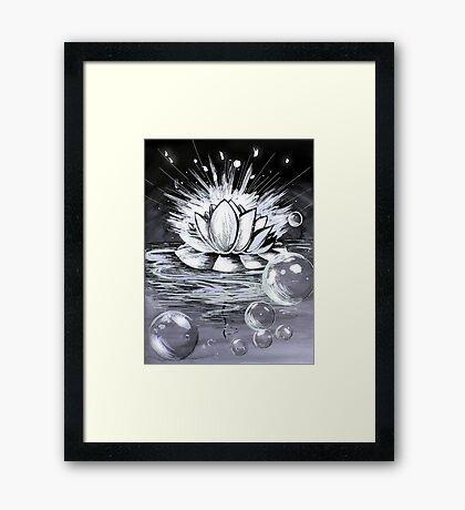 Waterlily Framed Print