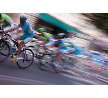 Cycle Race Photographic Print