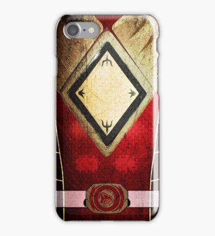 RedRanger03 iPhone Case/Skin