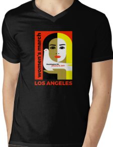 Women's March on Washington 2017, Los Angeles Mens V-Neck T-Shirt