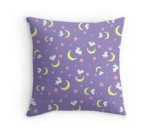 Rabbit of the Moon Throw Pillow