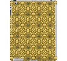 Primrose Yellow Black Lace iPad Case/Skin