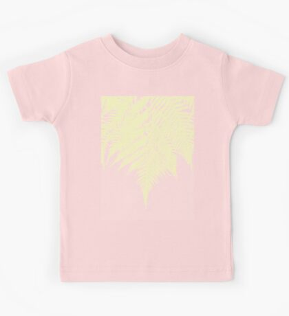 Concrete Fern Yellow Kids Clothes