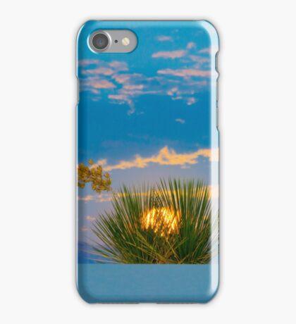 White sands sunrise  iPhone Case/Skin