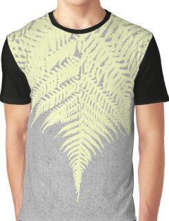 Concrete Fern Yellow Graphic T-Shirt