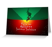 AUSSIE Summer Solstice! Greeting Card