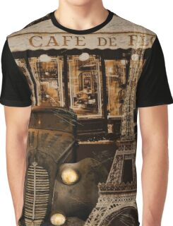 Streets of Paris I Graphic T-Shirt