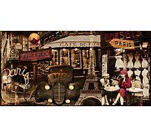Streets of Paris I Photographic Print