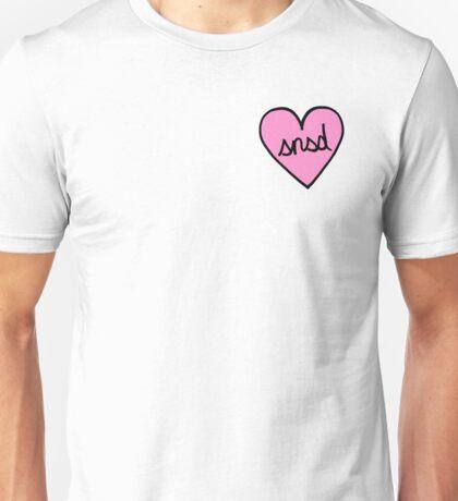 SNSD Heart Patch kpop Unisex T-Shirt
