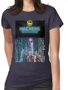 Hackers Womens Fitted T-Shirt
